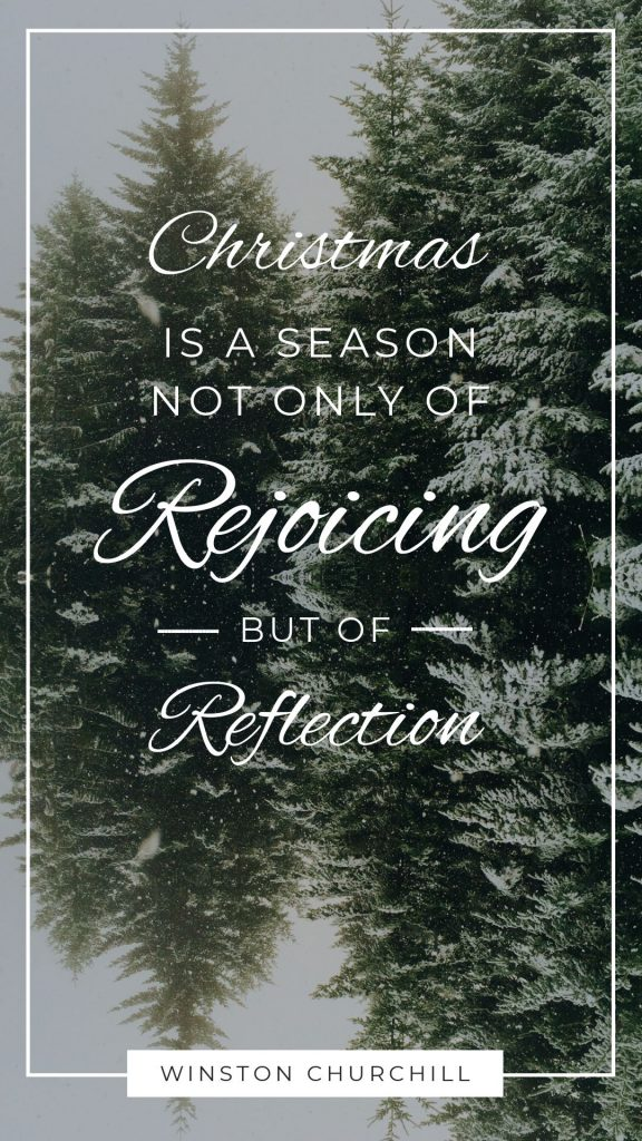 25 Christmas Quotes for Festive Holiday Social Media Posts - Winston Churchill Quote