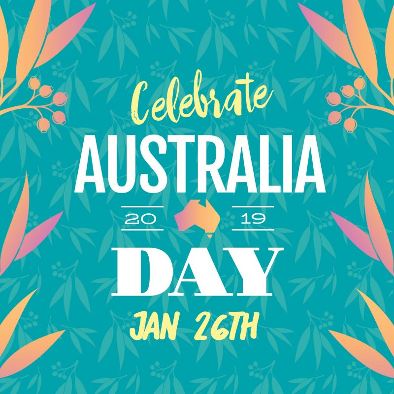 Australia Day Template by Easil - January Content Calendar Ideas + Templates