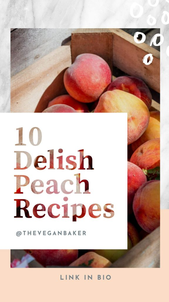 Peach Recipes - January Content Calendar Ideas + Templates
