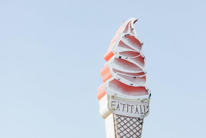 Eat it all Icecream Image - January Content Calendar Ideas + Templates