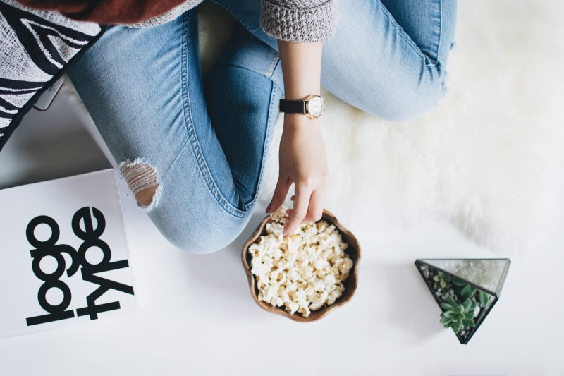 Popcorn Image - January Content Calendar Ideas + Templates