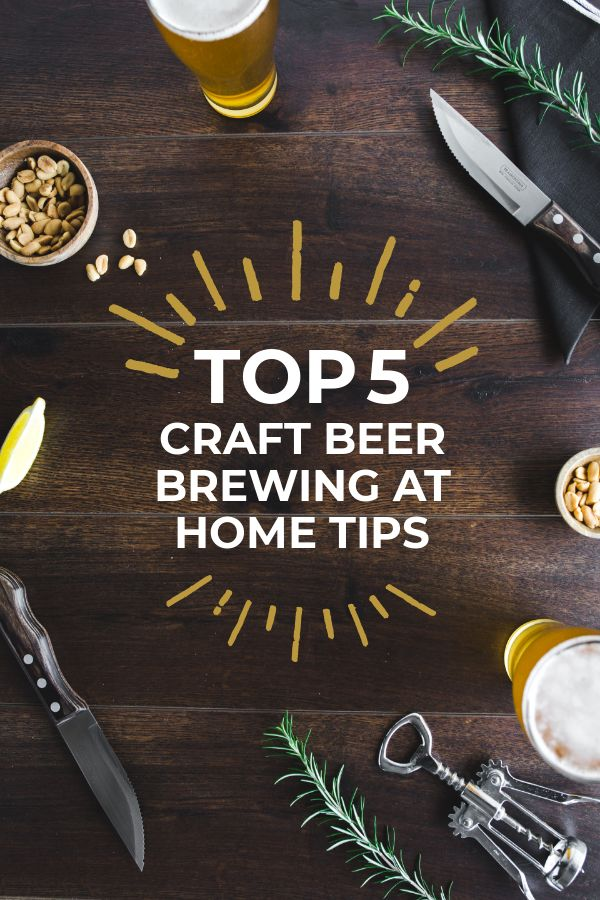 Craft brewing Pin Template by Easil - 5 Essential Tips for Creating Pinterest Pins that Get Shared Like Crazy