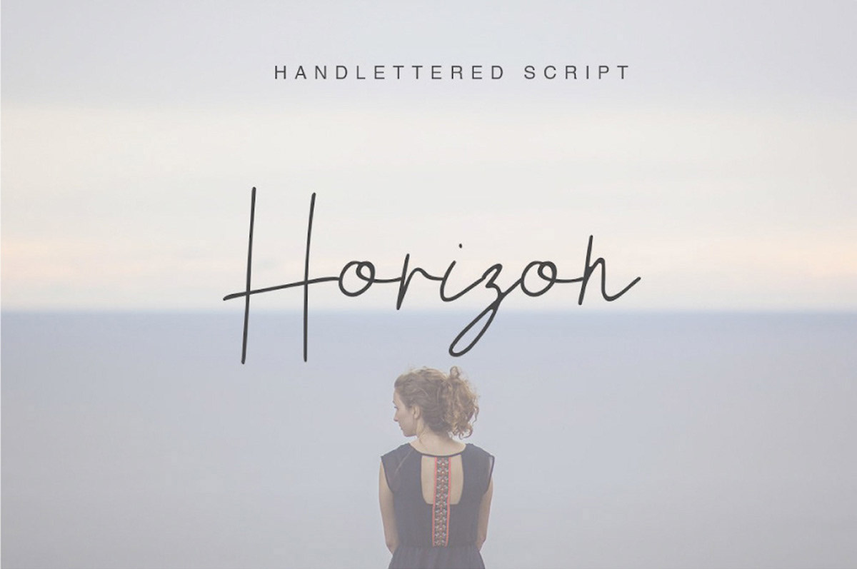 Horizon Font - 85 Cool Free Fonts for the Best DIY Designs in 2019
