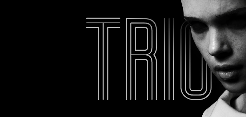Trio Font - 85 Cool Free Fonts for the Best DIY Designs in 2019