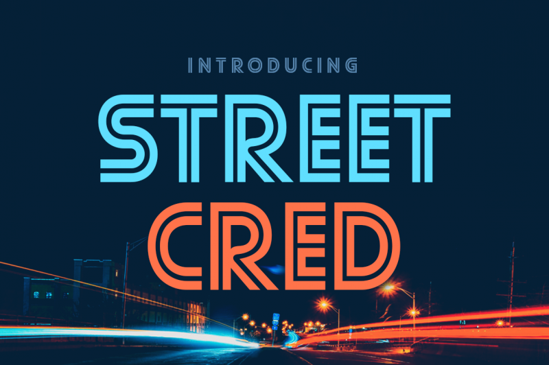 Street Cred Font - 85 Cool Free Fonts for the Best DIY Designs in 2019
