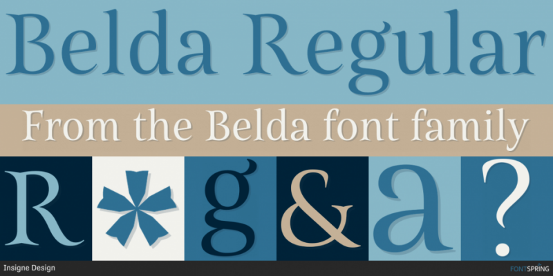 Belda Font - 85 Cool Free Fonts for the Best DIY Designs in 2019