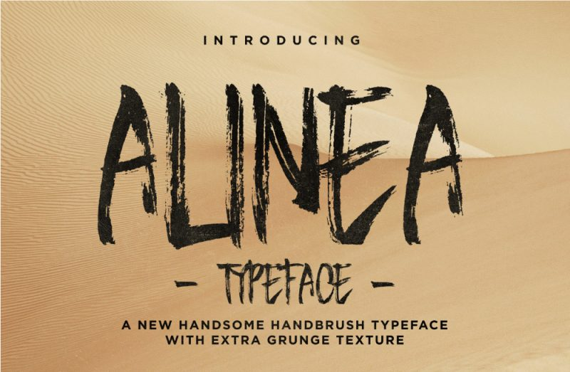 Alinea Font - 85 Cool Free Fonts for the Best DIY Designs in 2019