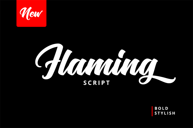 Flaming Font - 85 Cool Free Fonts for the Best DIY Designs in 2019