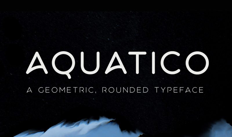Aquatico Font - 85 Cool Free Fonts for the Best DIY Designs in 2019