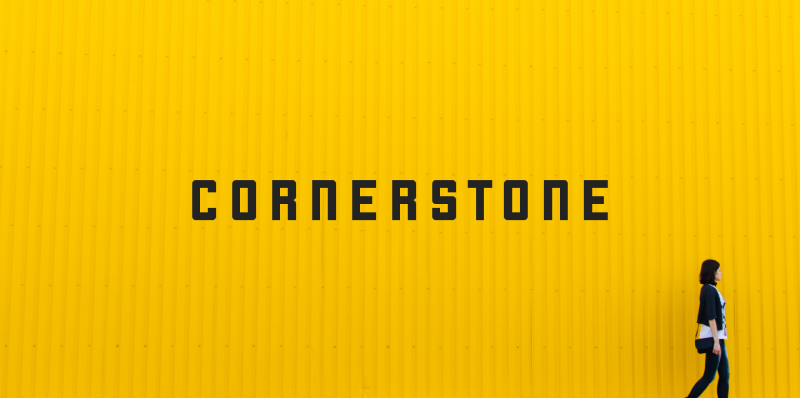 Cornerstone Font - 85 Cool Free Fonts for the Best DIY Designs in 2019