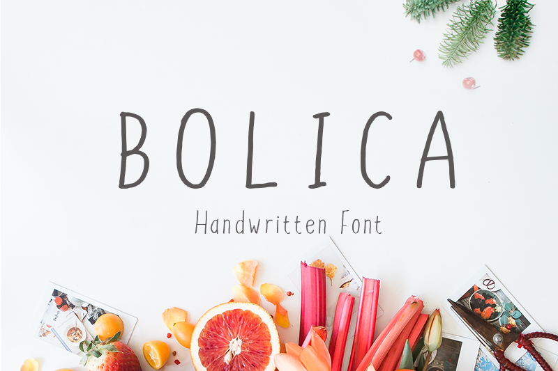 Bolica Font - 85 Cool Free Fonts for the Best DIY Designs in 2019