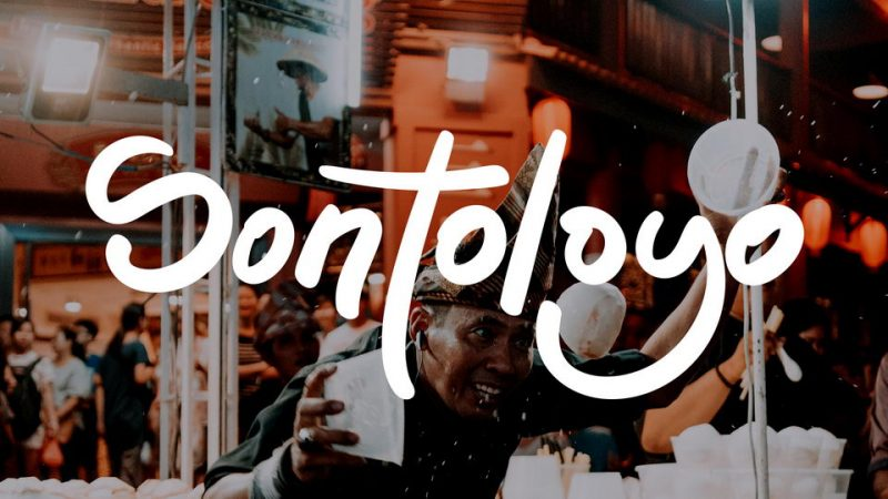 Sontoloyo Font - 85 Cool Free Fonts for the Best DIY Designs in 2019