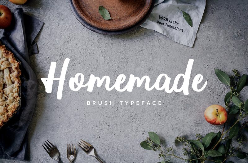 Homemade Font - 85 Cool Free Fonts for the Best DIY Designs in 2019