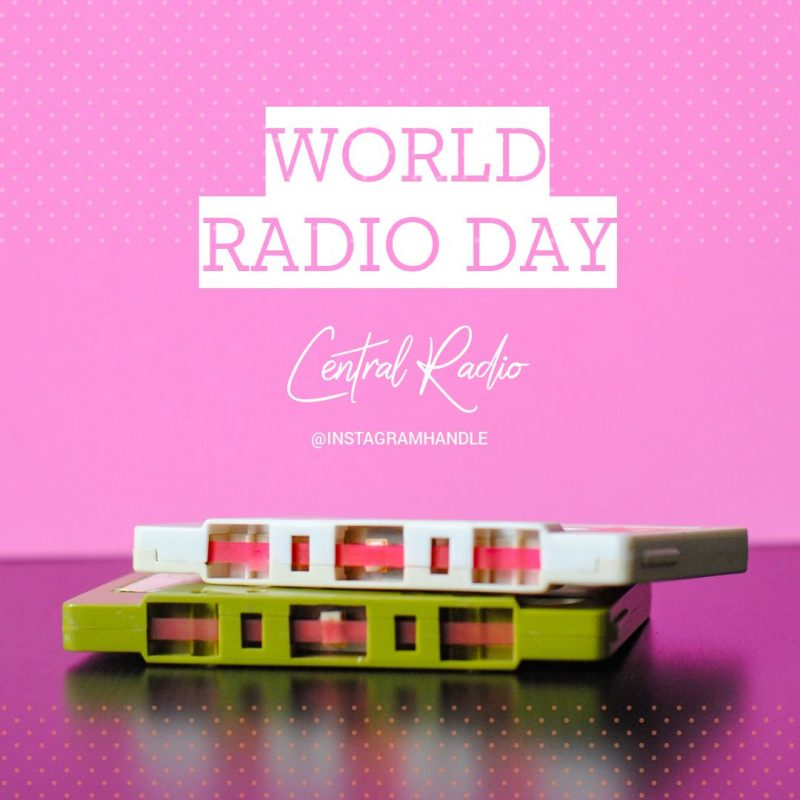 World Radio Day - February Content Calendar Ideas + Templates