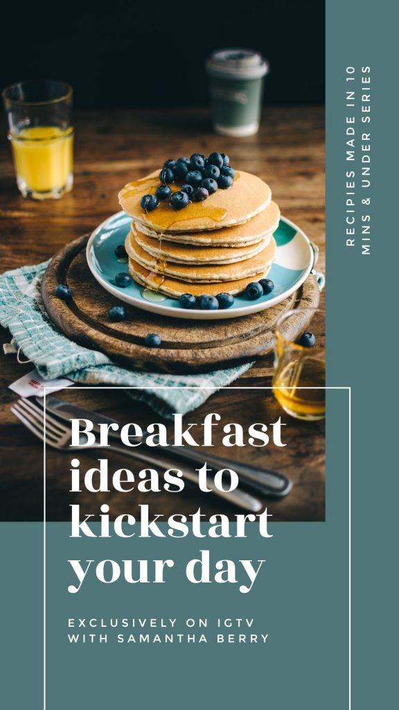 Pancake Template - March Content Calendar Ideas + Templates
