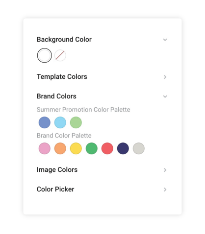 Creating multiple color palettes in Easil - Meet Easil+ 2019 - Next Generation DIY Design for Teams