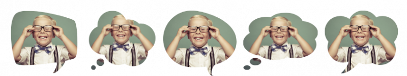 Create awesome animated GIFs with these cute speech bubble image frames. - 7 Ways to Create awesome animated GIFs in under 5 minutes