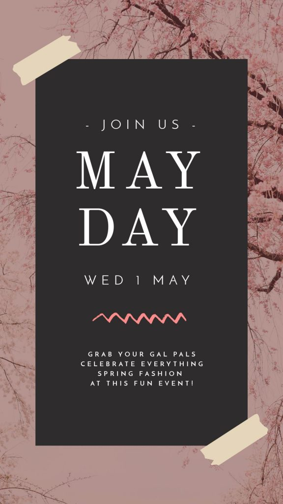 May Day Template by Easil - May Content Calendar Ideas and Templates