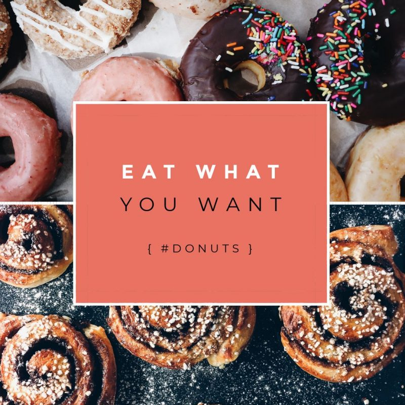 Eat What You Want Day Template by Easil - May Content Calendar Ideas and Templates