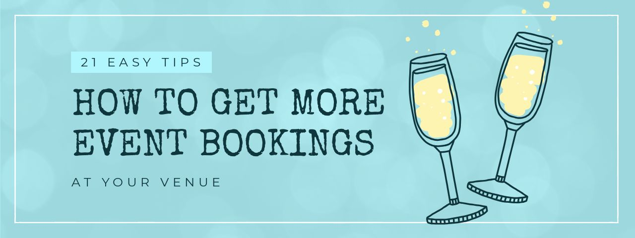 How to get more event bookings at your venue
