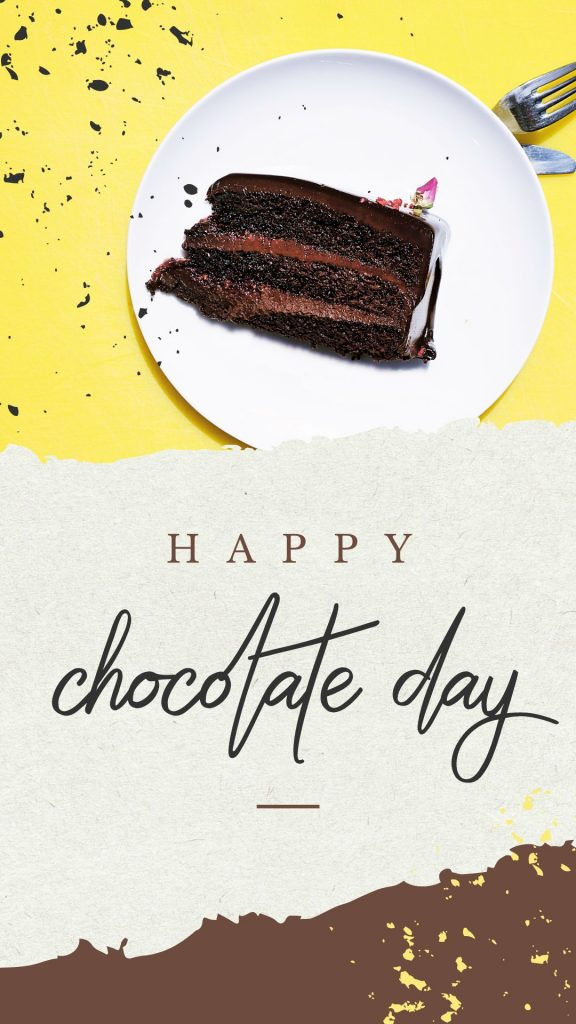 World Chocolate Day Template by Easil - July Content Calendar Ideas and Templates
