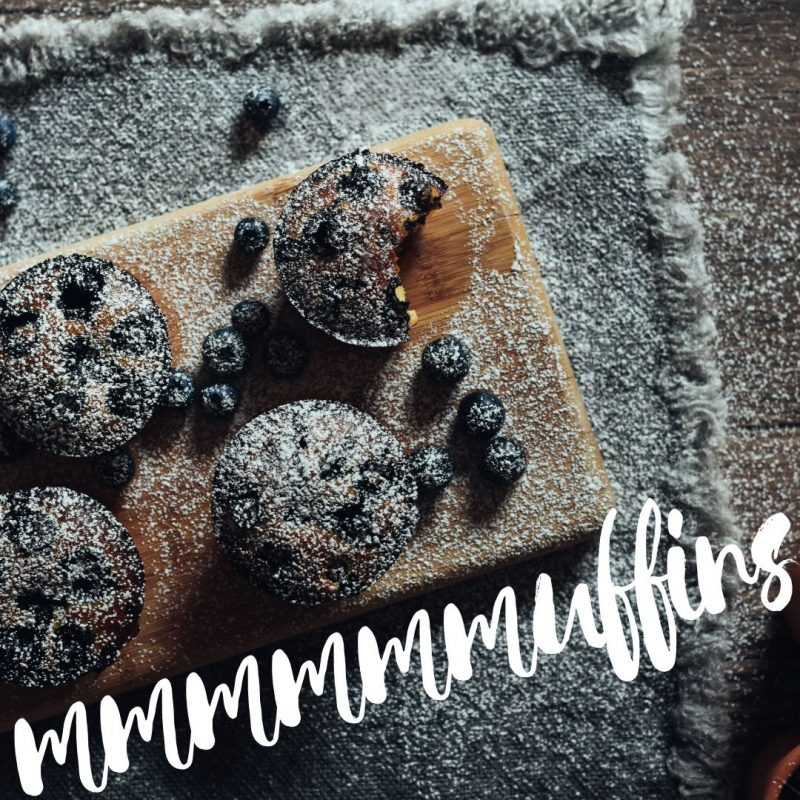 Blueberry Muffin Day Template by Easil - July Content Calendar Ideas and Templates