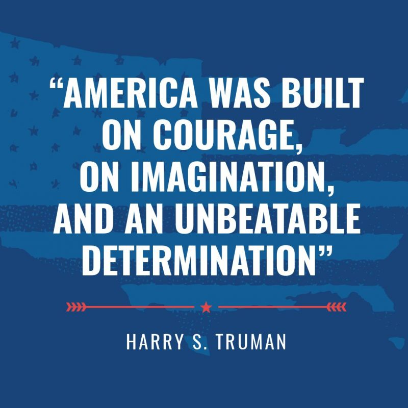 4th of July Quotes Templates by Easil - Harry S Truman