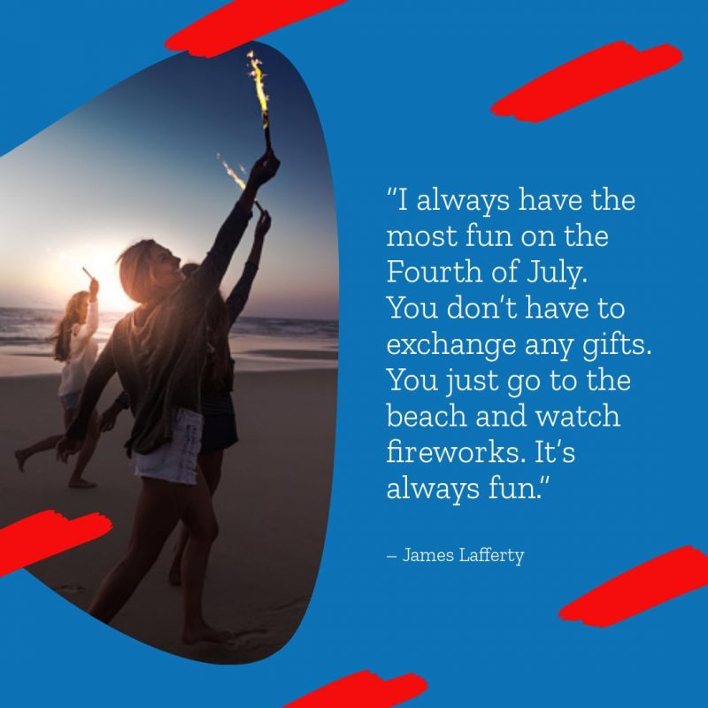 4th of July Quotes Templates by Easil - James Lafferty