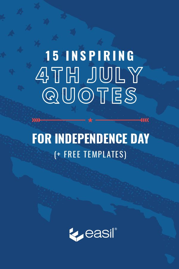 4th of July Quotes Templates by Easil