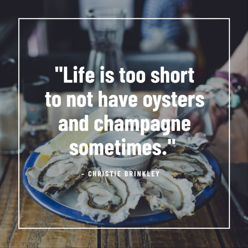 Oyster Quote template - August Content Calendar Ideas and Templates.