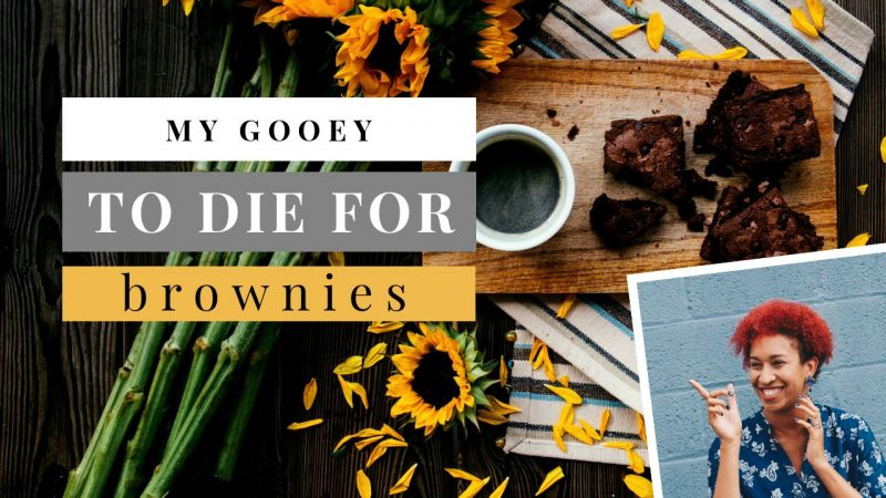 Chocolate Brownies YouTube Thumbnail - Filter Design Tricks to keep your brand consistent