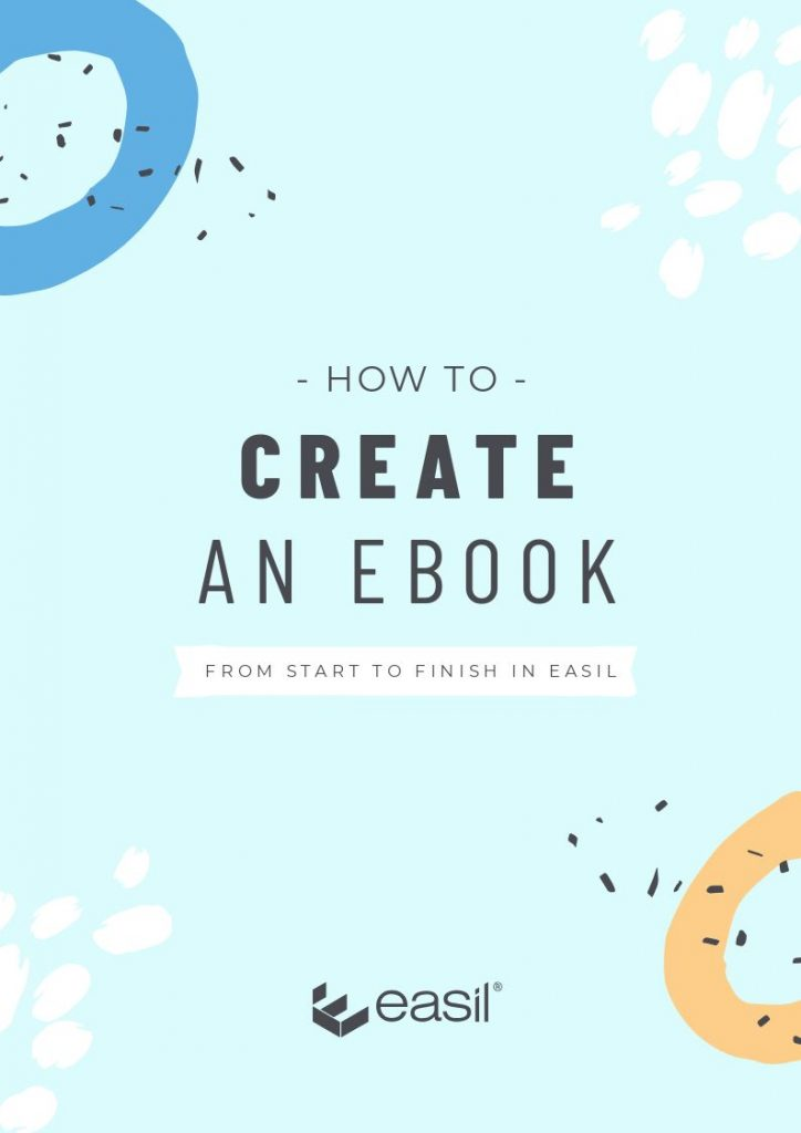 How to Create an ebook - front cover design example