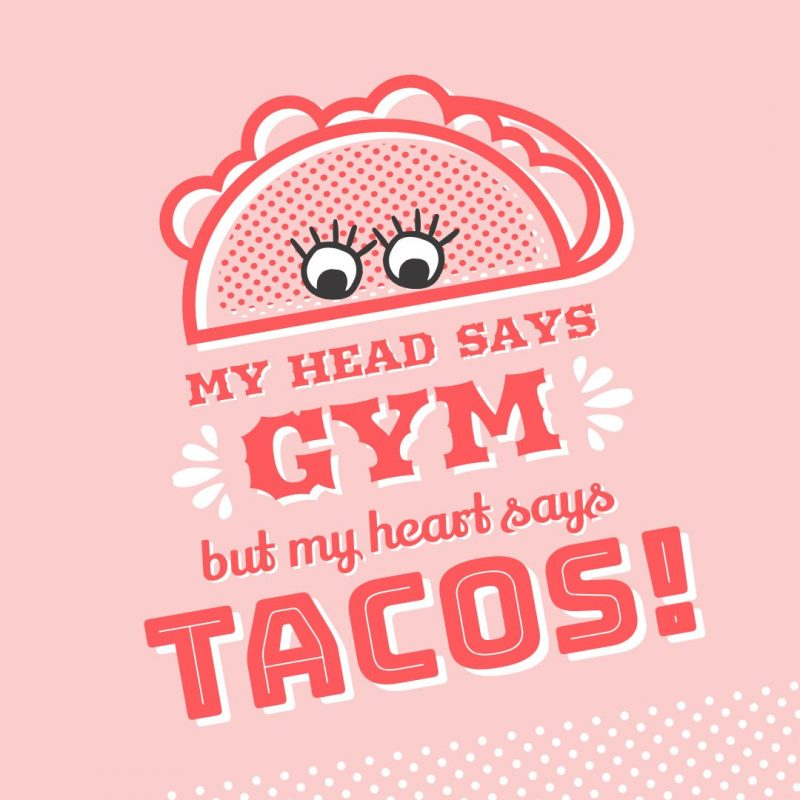 National Taco Day Template by Easil - October Content Calendar Ideas and Templates