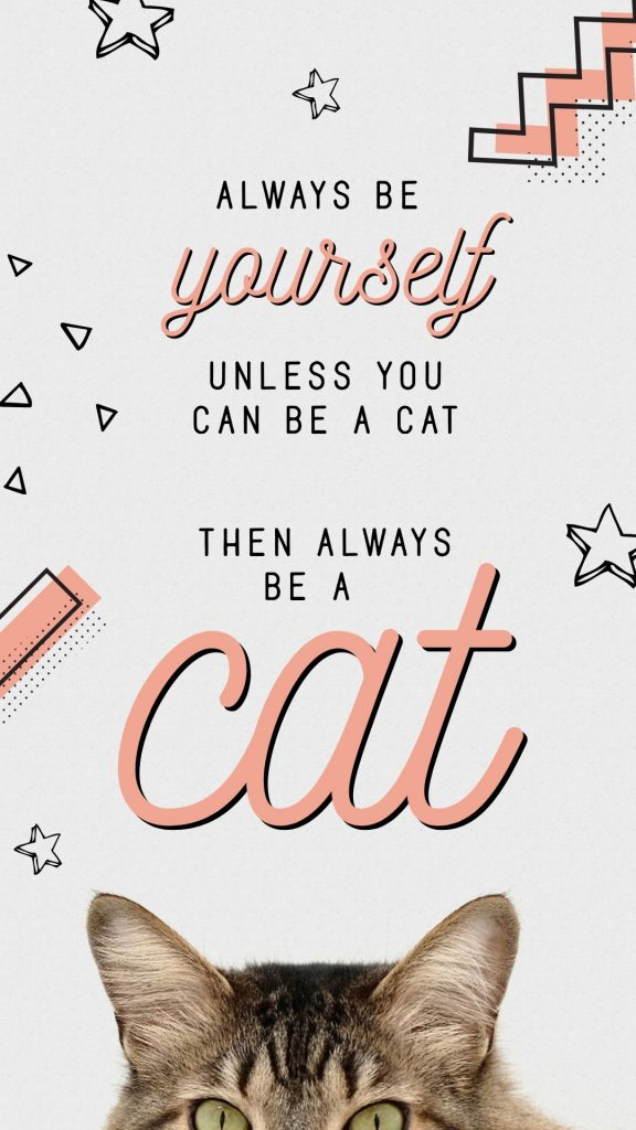 National Cat Day Template by Easil - October Content Calendar Ideas and Templates