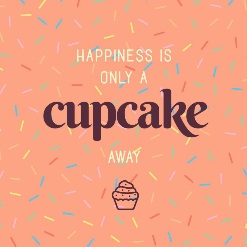 National Chocolate Cupcake Day Template by Easil - October Content Calendar Ideas and Templates