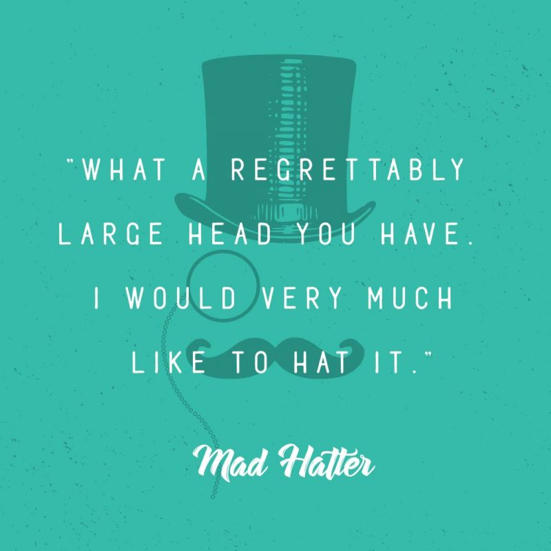 Mad Hatter Day Template by Easil - October Content Calendar Ideas and Templates