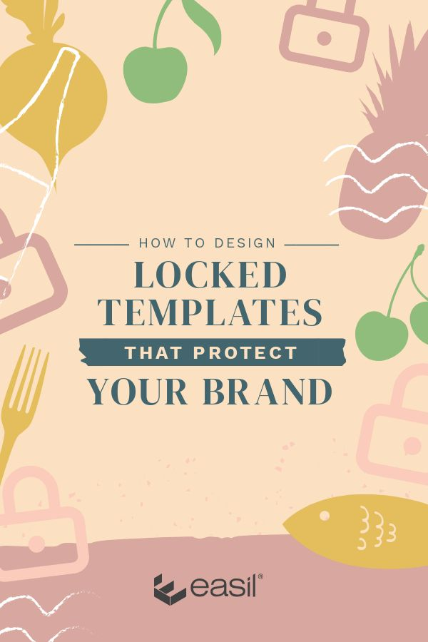 Brand locked templates - Learn how to create templates to share with your team