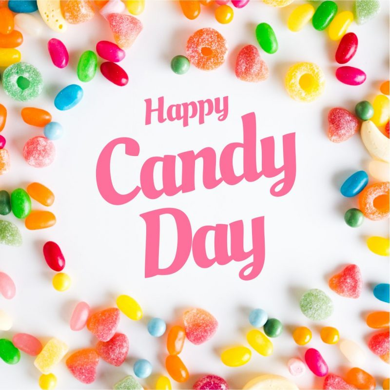National Candy Day Template by Easil - November Content Calendar Ideas and Templates