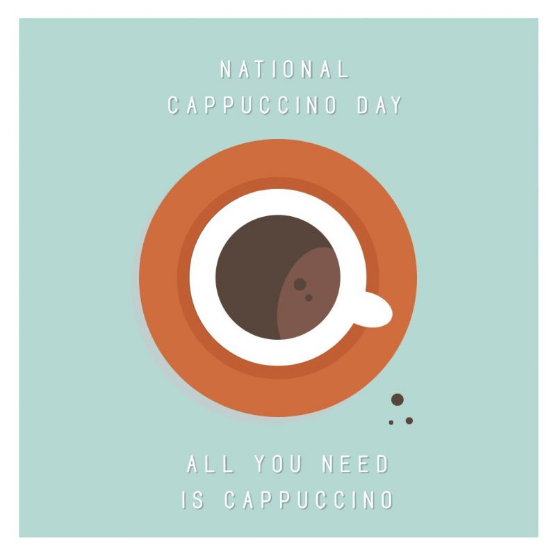 National Cappuccino Day Template by Easil - November Content Calendar Ideas and Templates