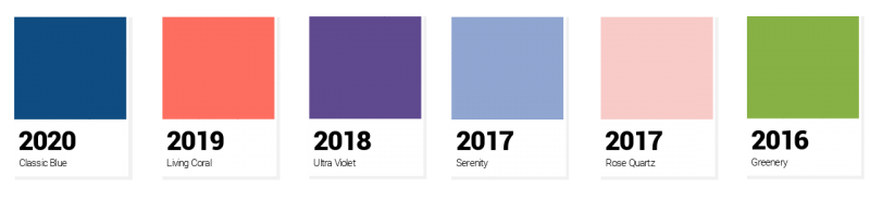 How To Use 2020 Pantone Color Of The Year In Your Designs Free Templates Easil