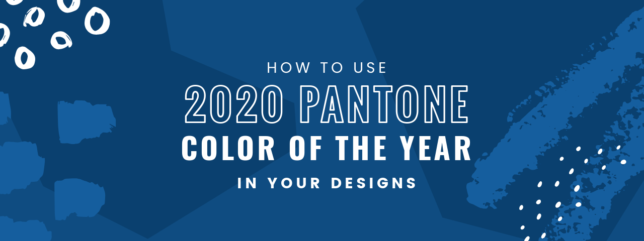 How to use 2020 pantone color of the year in your designs - Color of the year 2020 ...