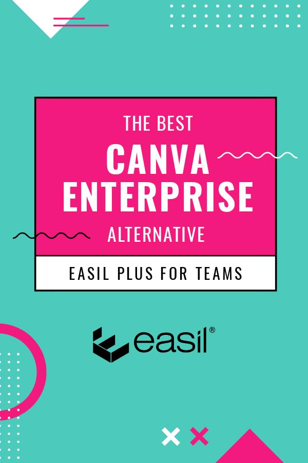 Canva Enterprise alternative Pinterest Image