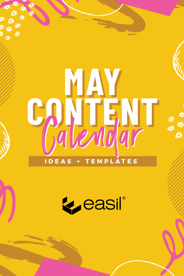 May content calendar with free templates and ideas