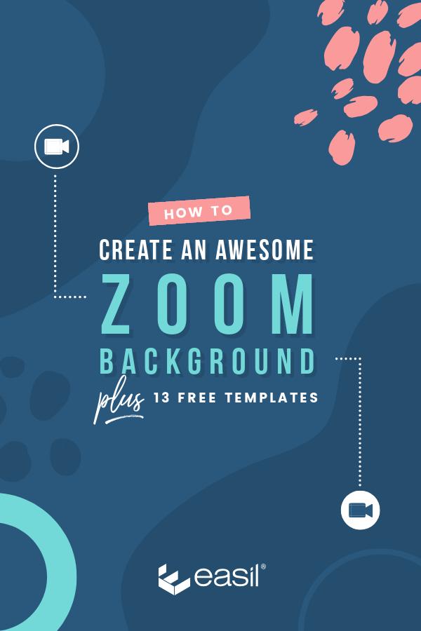 Zoom Background Pinterest Image