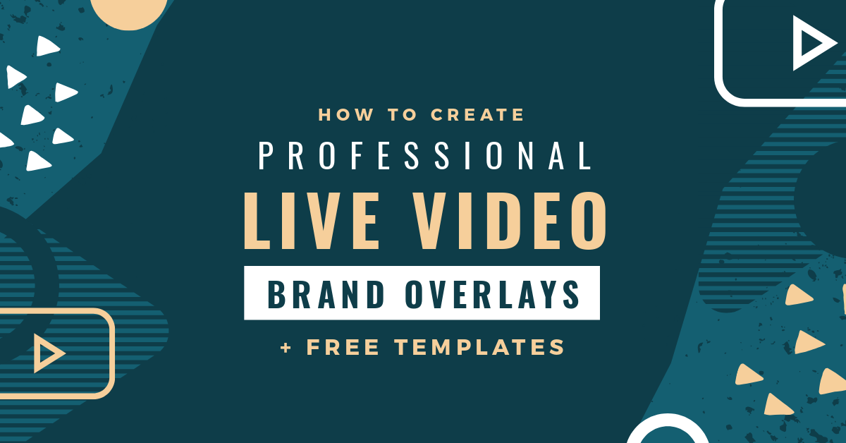 How To Create A Professional Live Video Overlay Free Templates Easil I do not own this movie, this video is for entertainment purposes only. live video overlay free templates