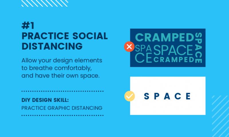 DIY Design Skills - Practice Social Distancing