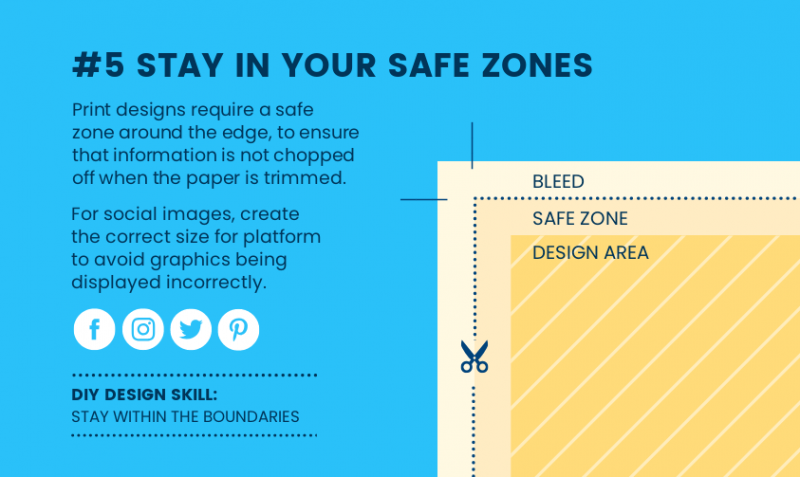 DIY Design Skills - Stay in your safe zones