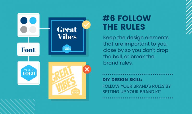 DIY Design Skills - Follow the Rules