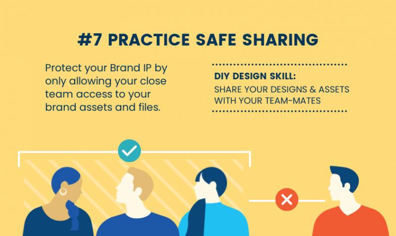 DIY Design Skills - Practice Safe Sharing