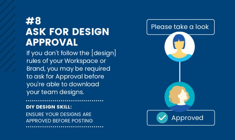 DIY Design Skills - Ask for design approval